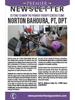 Premier PT Newsletter